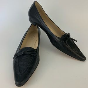 Talbots Black Loafers
